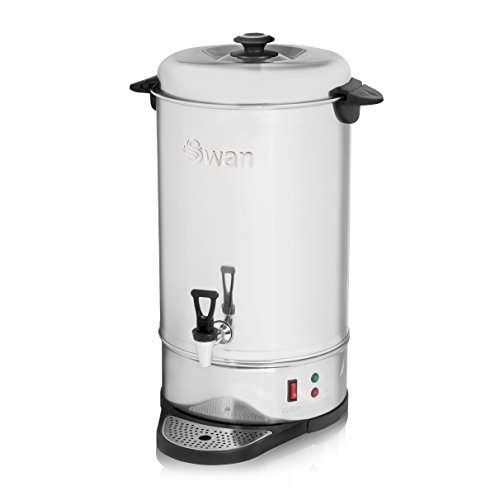 Swan SWU20L 20 Litre (80 cup) Commercial Stainless Steel Catering Urn / Water Boiler