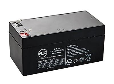 Aquatec Fortuna Bath Lift 12V 3.2Ah Wheelchair Battery - This is an AJC Brand® Replacement