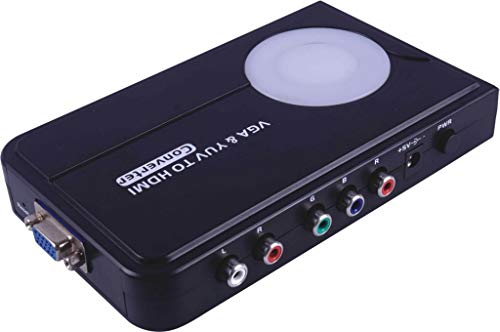 PremiumCord VGA + YUV zu HDMI Adapter 1080i Pc