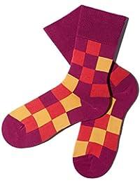 Bunte Socken - Muster: Pixelate - Fruitpop - GOTS zertifiziert - aus feinster Bio Baumwolle - Komfortbündchen