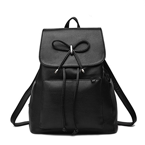 Sac à bandoulière double/ sac à dos en cuir coréenne/École de Ms mode de wild wind-A A