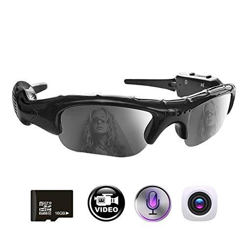 ZHANGSHIGC Fahrrad Eyewear Kamera 2 In 1 Action Digital Video Recorder Outdoor Sports Fahrrad Sonnenbrille Wandern Radfahren Sonnenbrille