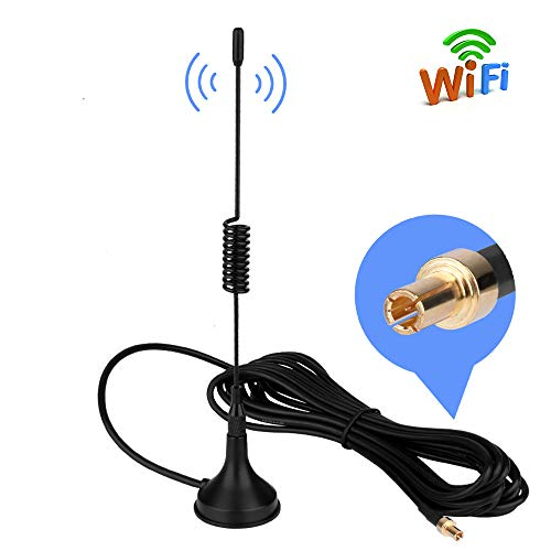 Aigital TS9 Antenna 4G LTE 11dBi GSM 3G 2 4G Wifi Antenna Omni Directional  Magnet Base 3m RG174 Extension Cable for WiFi Router Modem Vodafone ZTE
