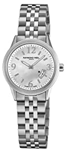 Raymond Weil Women's Automatic Watch with Mother of Pearl Dial Analogue Display and Silver Stainless Steel Plated Bracelet 5670-ST-05907