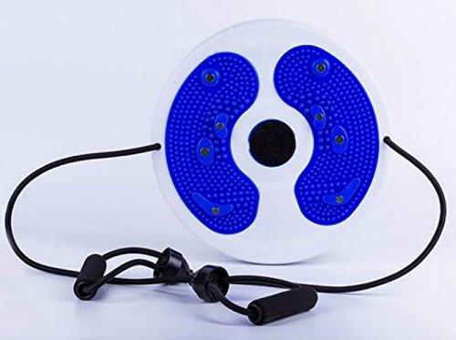 Placa Twister Grande Con Una Técnica Doméstica Pequeña Cuerpo De Adelgazamiento Cuerda-abdominal Esculpir La Cintura Fina Y Masaje De Pies Del Aparato Magnético De La Terapia,Blue