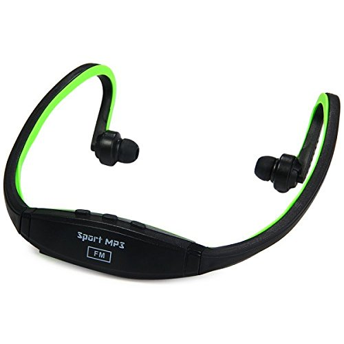 Futaba Wireless Sports MP3 Music Player for Gym Running Jogging - Green