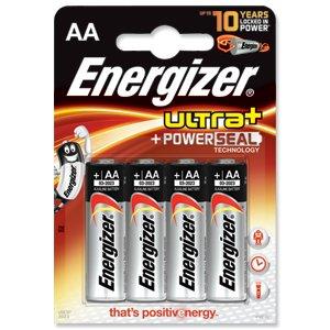 ENERGIZER Energizer UltraPlus Battery Alkaline LR06 1.5V AA Ref 637463 [Pack 4]