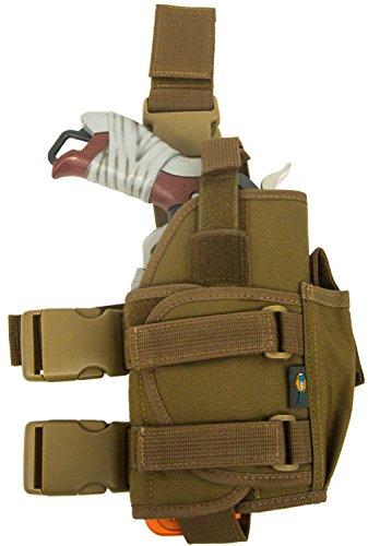 Blasterparts Multi Holster SX (links) - passend für Nerf Blaster wie Hammershot (coyote)