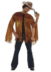César - Disfraz de vaquero (cowboy) para hombre (adulto), talla única