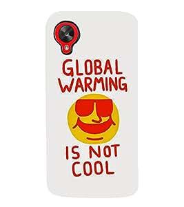 99Sublimation Global Warming 3D Hard Polycarbonate Back Case Cover for LG Nexus 5 :: LG Google