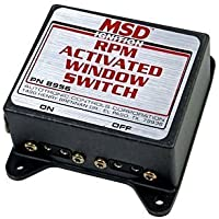 MSD Ignition RPM Attivato Finestra Passare PN: 8956