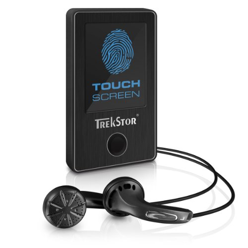 TrekStor i.Beat sense, MP3-Player (4.6 cm (1.8 Zoll), TFT Display, USB 2.0), 4 GB, schwarz
