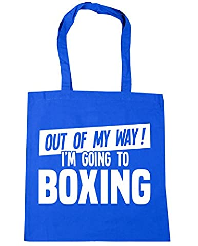 HippoWarehouse Out of My Way I'm Going to Boxing Tote Shopping Gym Beach Bag 42cm x38cm, 10 litres