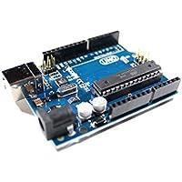 Uno R3 Scheda madre con ATmega328P, ATmega16U2, 100% compatibile con Arduino