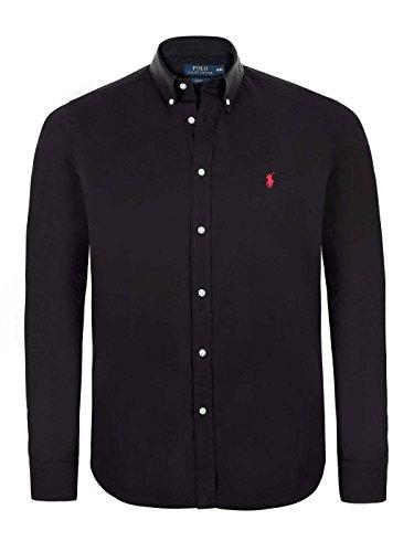 Polo Ralph Lauren -  Camicia Casual  - Basic - Uomo Black Medium