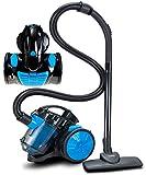 Bodenstaubsauger 700 Watt | HEPA 13 Filter | 2in1 Bodenbürste | 360° Schlauch | Vaccum Cleaner Staubsauger Zyklonen Staubsauger beutellos