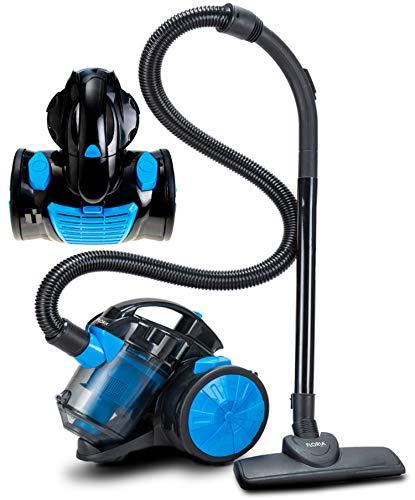 Bodenstaubsauger 700 Watt | HEPA 13 Filter | 2in1 Bodenbürste | 360° Schlauch | Vacuum Cleaner | Staubsauger | Zyklonen Staubsauger beutellos | Beutelloser Staubsauger | Zyklonenstaubsauger -