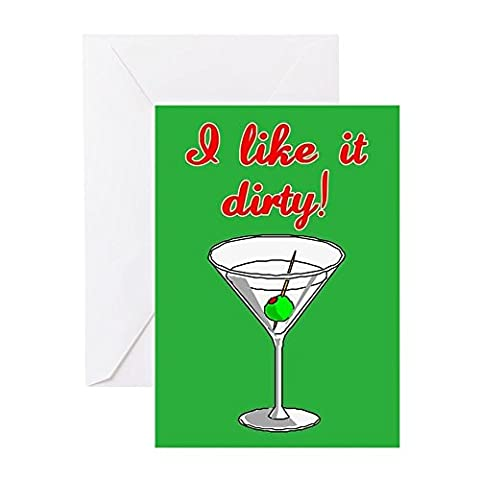 CafePress - I LIKE IT DIRTY - Greeting Card, Note