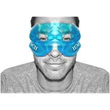 Hangover Mask - Hot or Cold Reusable Premium gel mask that helps to Soothe Puffy Faces, Tired Eyes, Headaches, Hangovers and Dark Circles under your eyes.