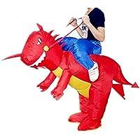 xiaoyi Disfraz Hinchable de Halloween para Adulto/niño, Disfraz Hinchable para Disfraz de Fiesta