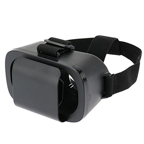 Docooler Universal Virtual Reality 3D Videobrille 3D-Brille Stirnband 2D zu 3D Film-Konverter Kompatibel mit 4~7in Smartphones Kompatibel mit iPhone Samsung