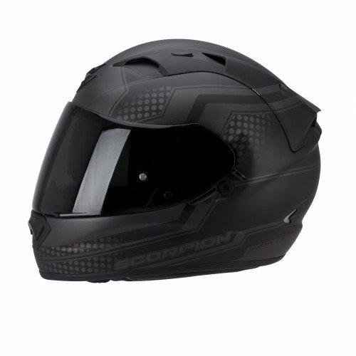 Scorpion EXO-1200 AIR ALIAS Motorrad Integralhelm Touring - schwarz silber Größe XL