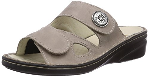 Florett Maria, Chaussures de Claquettes femme Beige - Beige (67/kiesel)