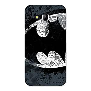 Impressive At Dust Grey Black Back Case Cover for Samsung Galaxy J5