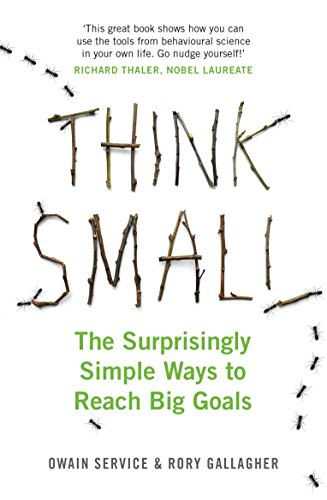 Think Small: The Surprisingly Simple Ways to Reach Big Goals (English Edition) de