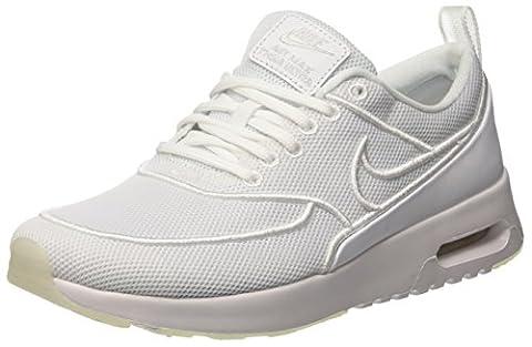 Nike Wmns Air Max Thea Ultra Si, les Formateurs Femme, Blanc Cassé (White/White/Wolf Grey), 40 EU