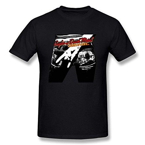 Arnoldo Blacksjd New Lifestyle Men's Eagle Of Death Metal Short Sleeve T-shirt XX-Large