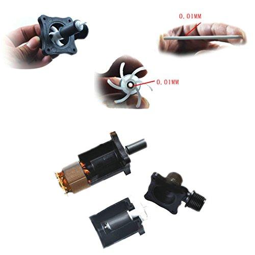 Smarstar Ölpumpe Wasserpumpe Pumpe DC40C-1230 Kreiselpumpe Tauchpumpe Brushless Aquarienpumpe DC 12V 222GPH 9.7ft -