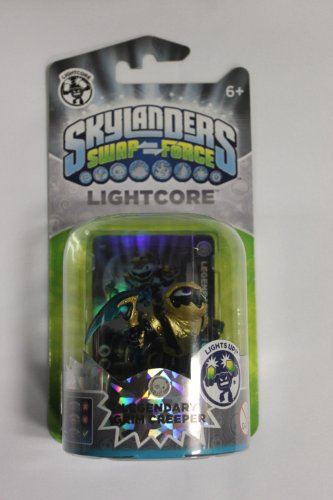 Skylanders Swap Force - Single Character - Light Core Legendary Grim Creeper (Swap Skylanders Team)