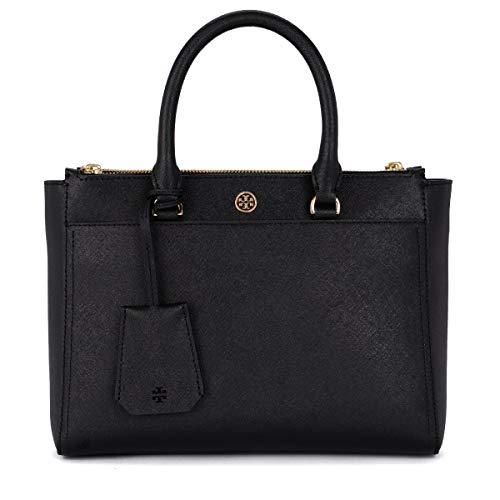 Tory Burch Handtasche Damen Tasche Schultertasche Messenger Bag Robinson blu