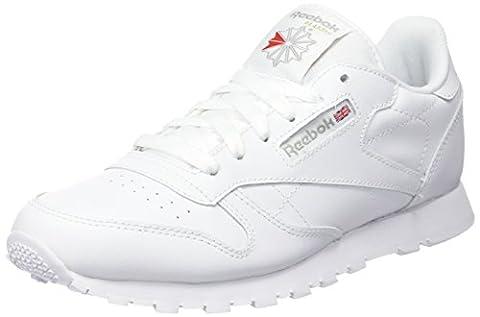 Reebok Classic Leather, Unisex-Kinder Sneaker, Weiß (White), 36 EU