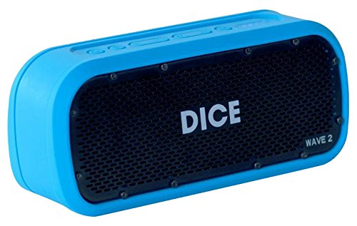 DICE SOUND Wave 2.0 - Enceinte étanche IPX7 - Fixation incluse - GoPro compatible