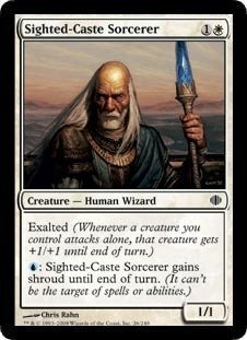 Magic: the Gathering - Sighted-Caste Sorcerer - Shards of Alara - Foil by Magic: the Gathering