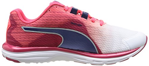 Puma Faas 500 V4 Wn, Fashion femme Blanc (01 White/Virtual Pink/Blueprint/Bright Plasma)
