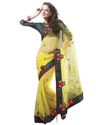 2309 - Designer Party Wear Saree  available at amazon for Rs.1090
