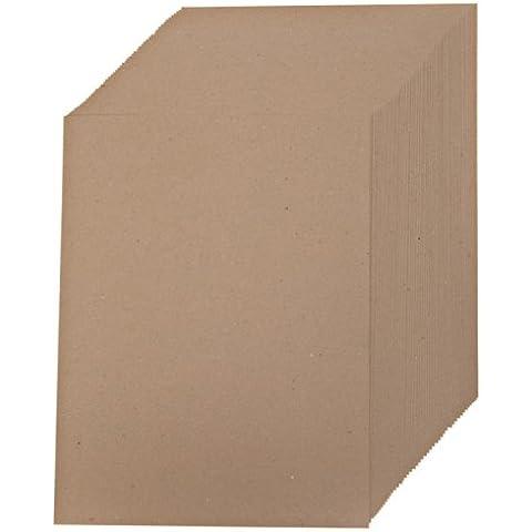 Creative World of Crafts - Fogli di carta Kraft (confezione da 50) - Mano Crafts
