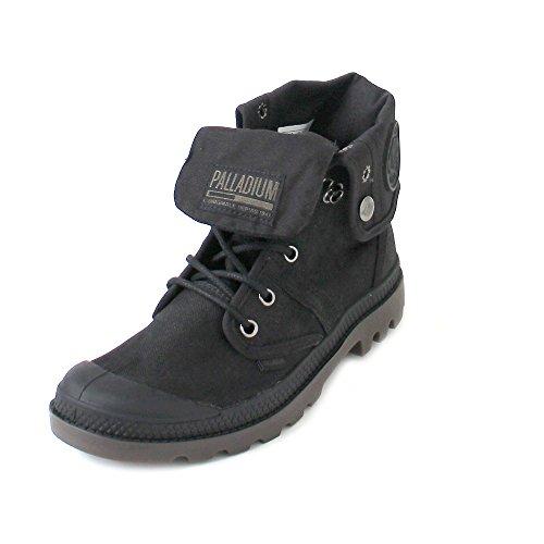 Palladium Pallabrouse Bgy Wax Amphibians / Boots Black Schwarz (goma Negra / Oscura)