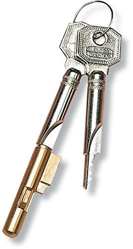 BURG WÄCHTER E 6 Burg Schlüssellochsperrer E6, verschiedensperrend, mit 2 Schlüsseln
