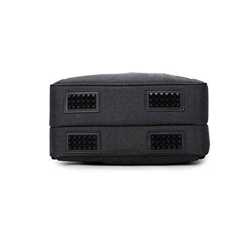Herren Schultertasche Mode Sport Wasserdicht Reisetasche Rucksack 15 - Zoll - Computer Tasche Große - Kapazität Tasche Black