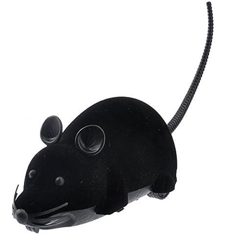 LUOEM Beängstigend Fernbedienung Batteriebetriebene Prank Spielzeug Simulation Plüschmaus Mäuse Kinder Spielzeug Katze Hund Geschenk