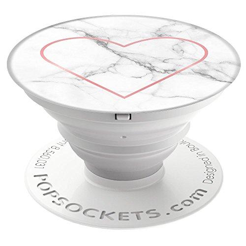 PopSockets - Ausziehbarer (Nicht Austauschbarer) Sockel und Griff für Smartphone und Tablet - Stony Heart (Harry Potter Ipod Fällen, 5)