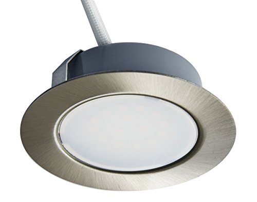 Trango  – Foco led empotrable y regulable para sustituir tradicionales G4, con aspecto de...