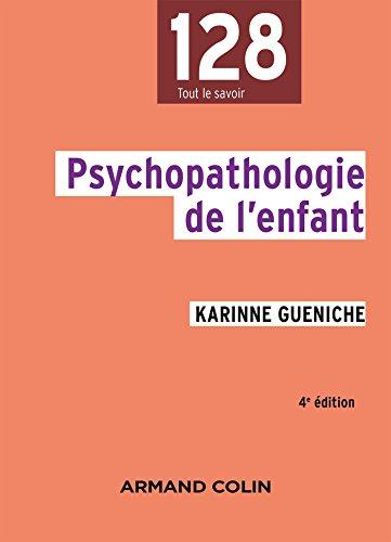 Psychopathologie de l\'enfant