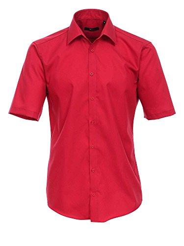 Venti Uomini Camicia per ufficio 001620 100% cotone - anche taglie grandi 35 mittelrot