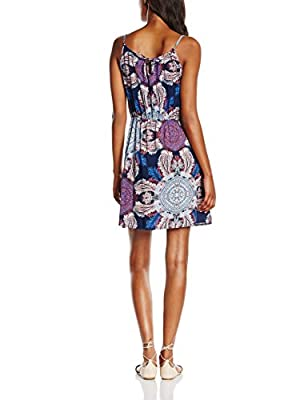 Vero Moda Women's Vmsuper Easy 3 SL Short Tie Dress