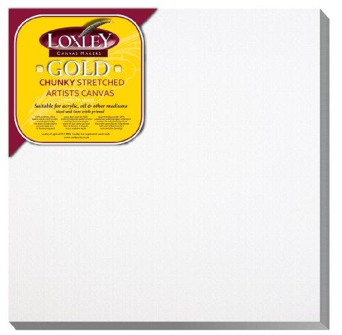 loxley-gold-tela-per-pittura-quadrata-e-tesa-30-x-30-cm-spessore-37-mm